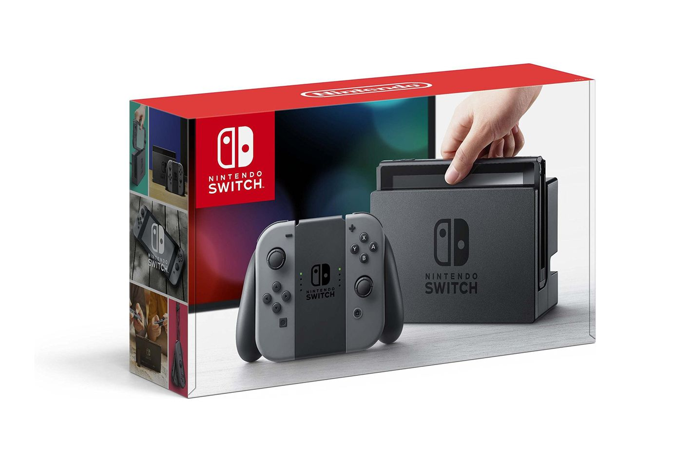 Nintendo Switch — Gray Joy-Con