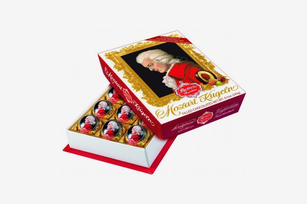 Reber Mozart Kugel Medium Portrait Box