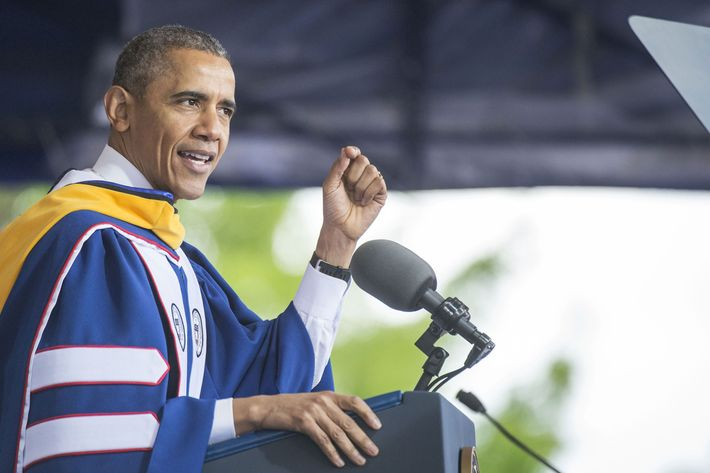 President Obama at Howard University Graduation