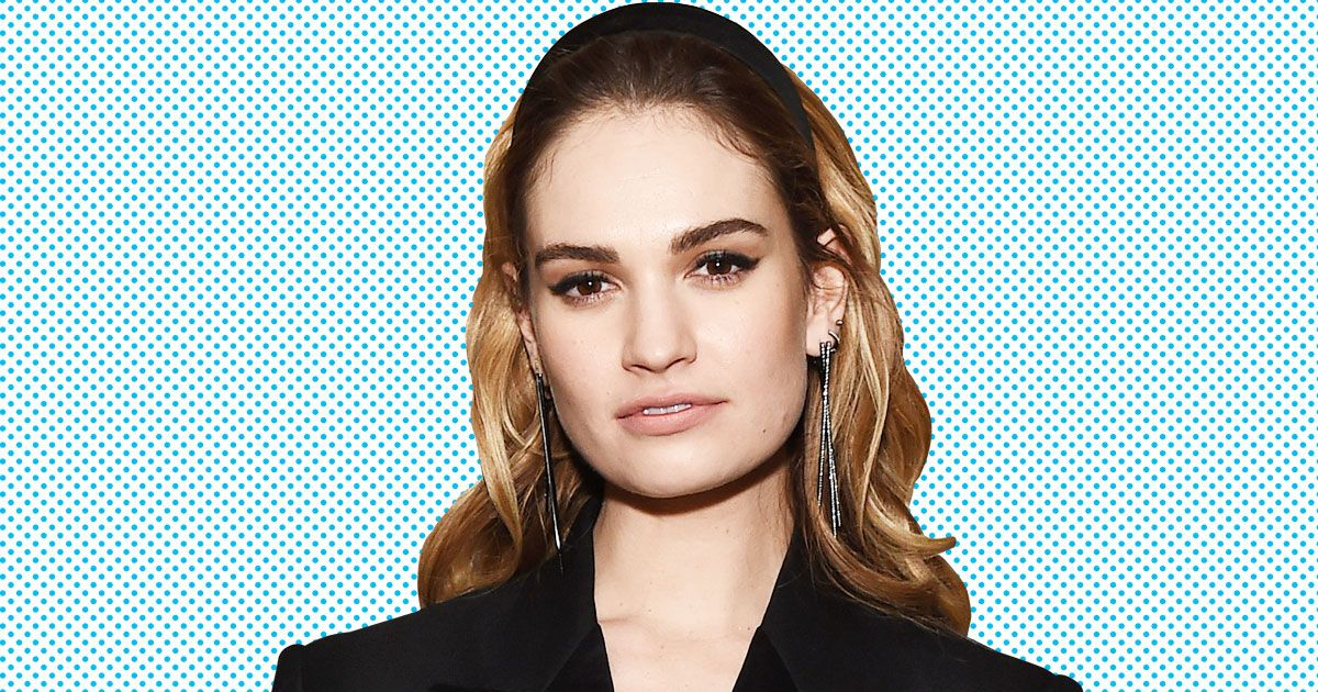 Lily James Image: Lily James On Playing A Young Meryl Streep In Mamma Mia 2