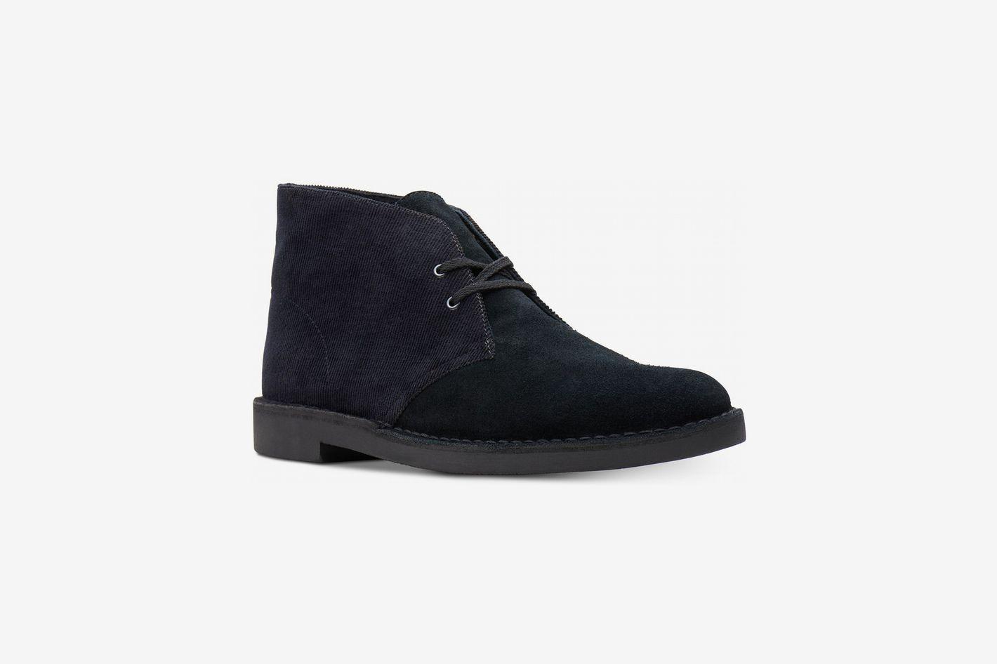 Clarks Men's Limited Edition Corduroy Bushacre Chukka Boots