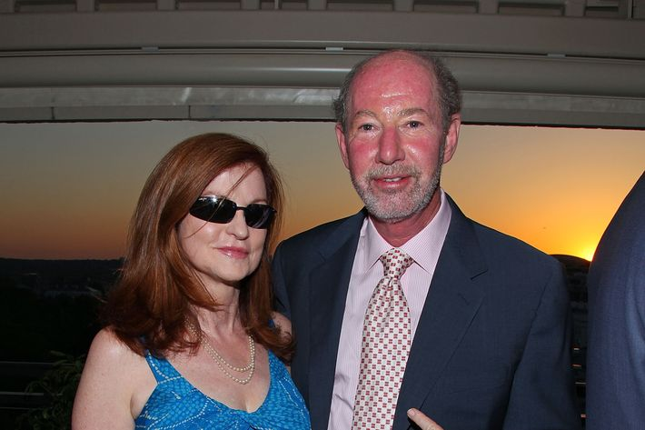 WASHINGTON - APRIL 30:  New York Times columnist Maureen Dowd (L) and radio/television talk show host Tony Kornheiser attend the The New Yorker party during White House Correspondents dinner weekend at the W Hotel Washington, DC on April 30, 2010 in Washington, DC.  (Photo by Mike Coppola/Getty Images for The New Yorker) *** Local Caption *** Tony Kornheiser;Maureen Dowd