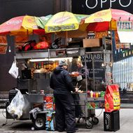 Food-Cart Vendor Slashes Rival for Coming to His Street Corner