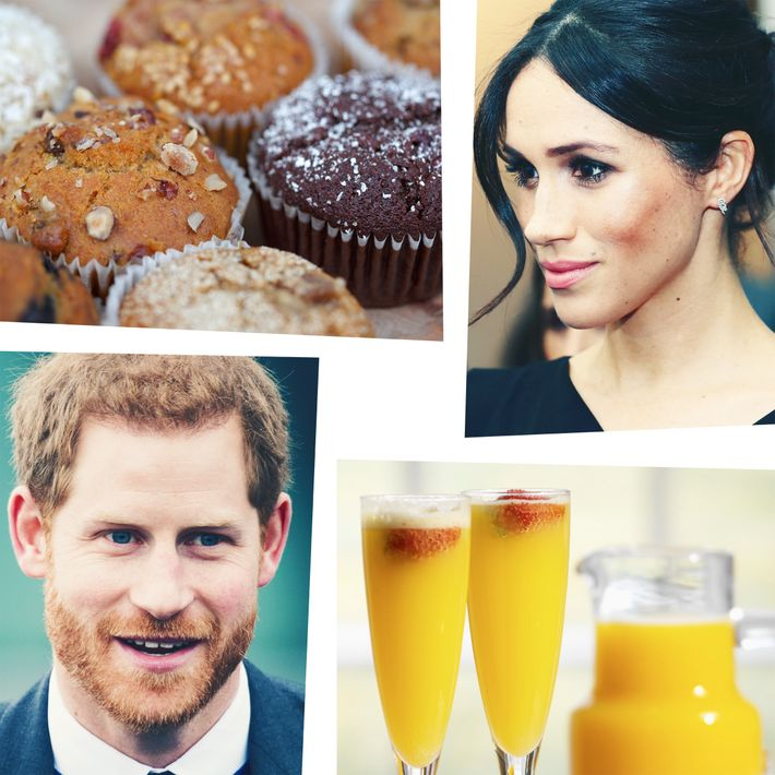 Muffins, Meghan Markle, mimosas, Prince Harry.