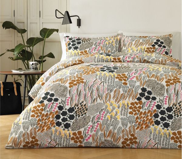 Marimekko Pieni Letto Cotton 3-Pc. Full/Queen Duvet Cover Set