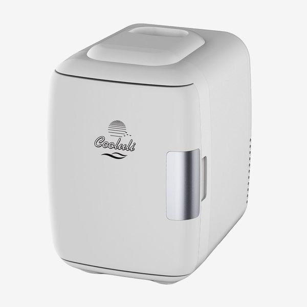 Cooluli Mini Fridge Electric Cooler and Warmer (4 Liter/6 Can)