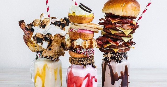 This Chicken Topped Milkshake Should Be The Final Word In This Extreme Food Nonsense Grub Street