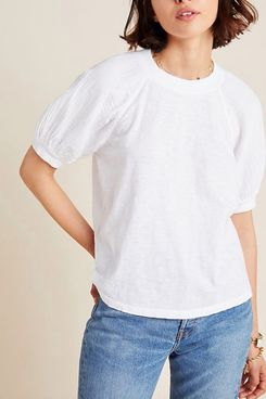 Velvet by Graham & Spencer Stila Puff-Sleeved Top