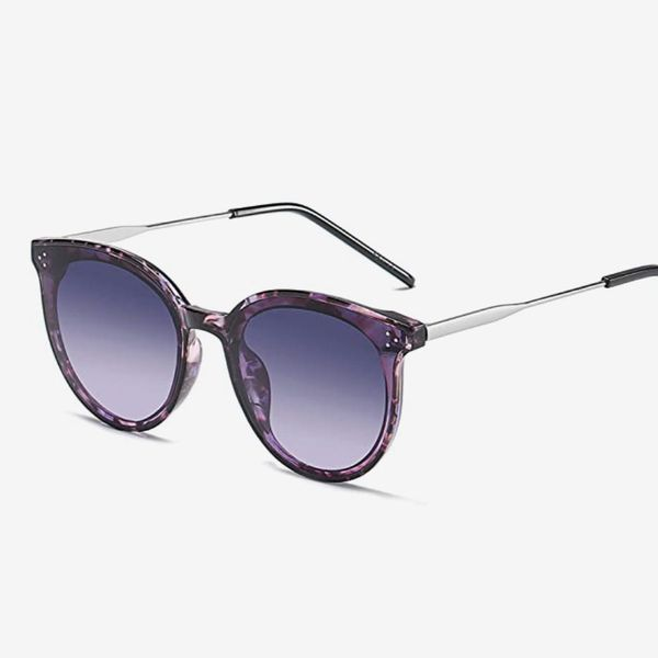 SOJOS Retro Oversize Mirrored Glasses