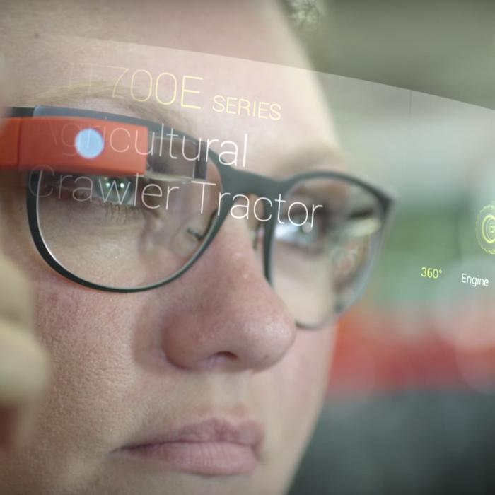 c18b047c443e A visualization of Google Glass at work. Photo  YouTube AGCO Corp