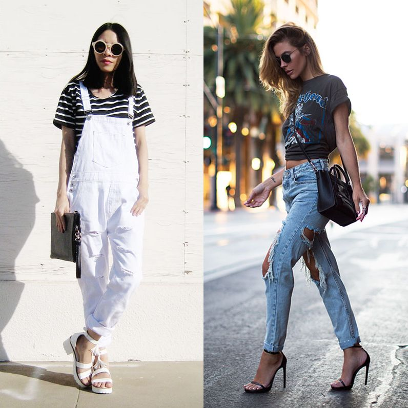 1ab171ce18d3 14 Ways to Wear Your Ripped Jeans Through Fall