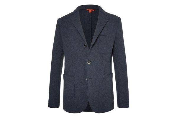 Barena Blue Slim-Fit Unstructured Wool-Blend Blazer