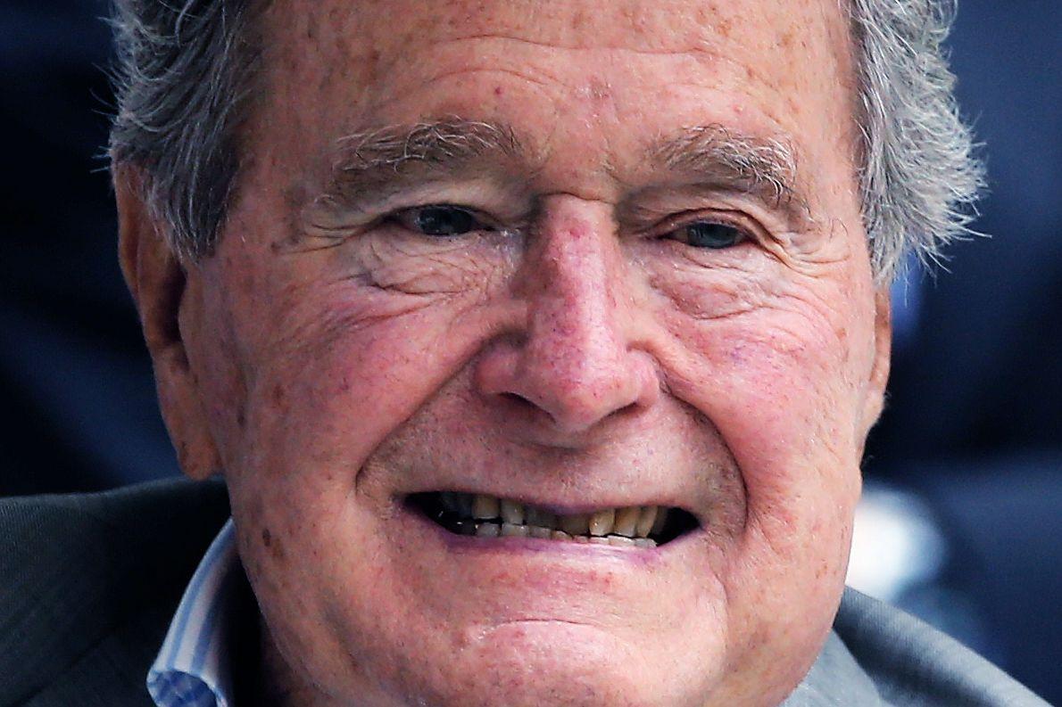 George H W Bush On Trump I Don T Like Him