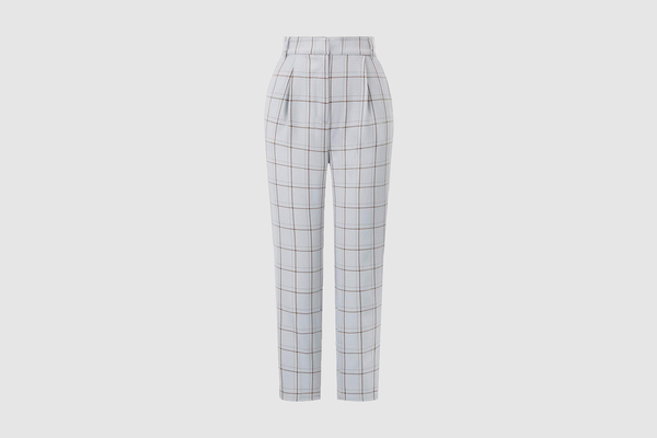 GRACE KARIN Cropped Paper Bag Waist Pants with Pockets