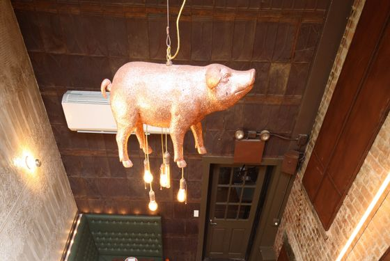 No word on what happens to the pig.