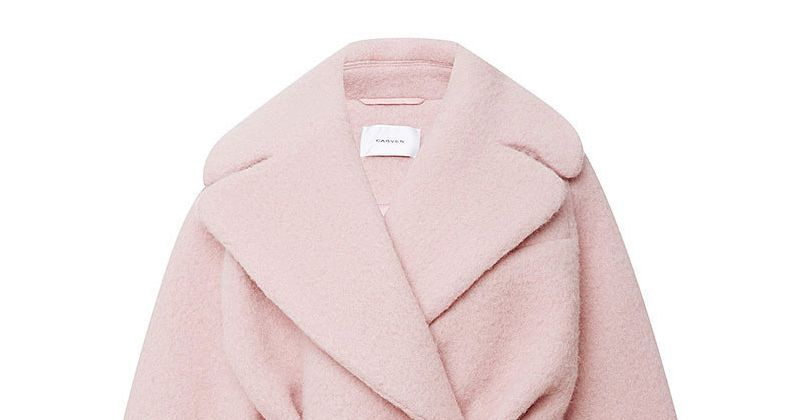Treat Yourself Friday: A Sugary-Sweet Carven Coat