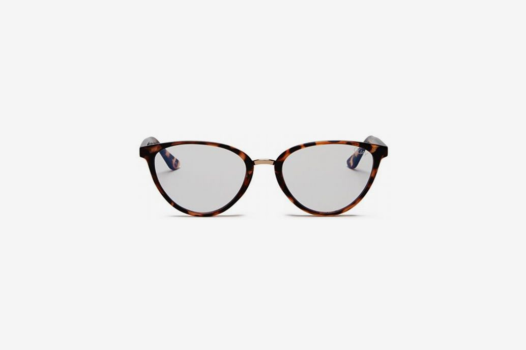 Quay Women's Rumours Blue Light Cat Eye Glasses