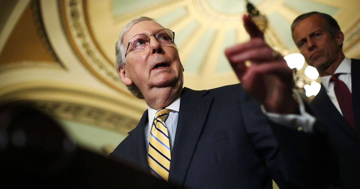 Mitch McConnell Continues Glib Remarks on Reparations, Equates Himself With Obama