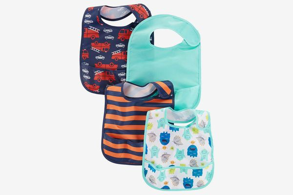 Simple Joys by Carter's Baby 4-Pack Feeder Bibs