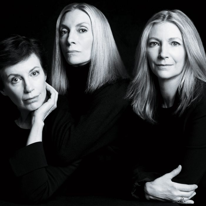 Wendy, Tonne, and Stacy Goodman (from left).