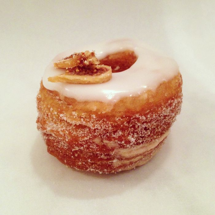This cronut is pretty continental.