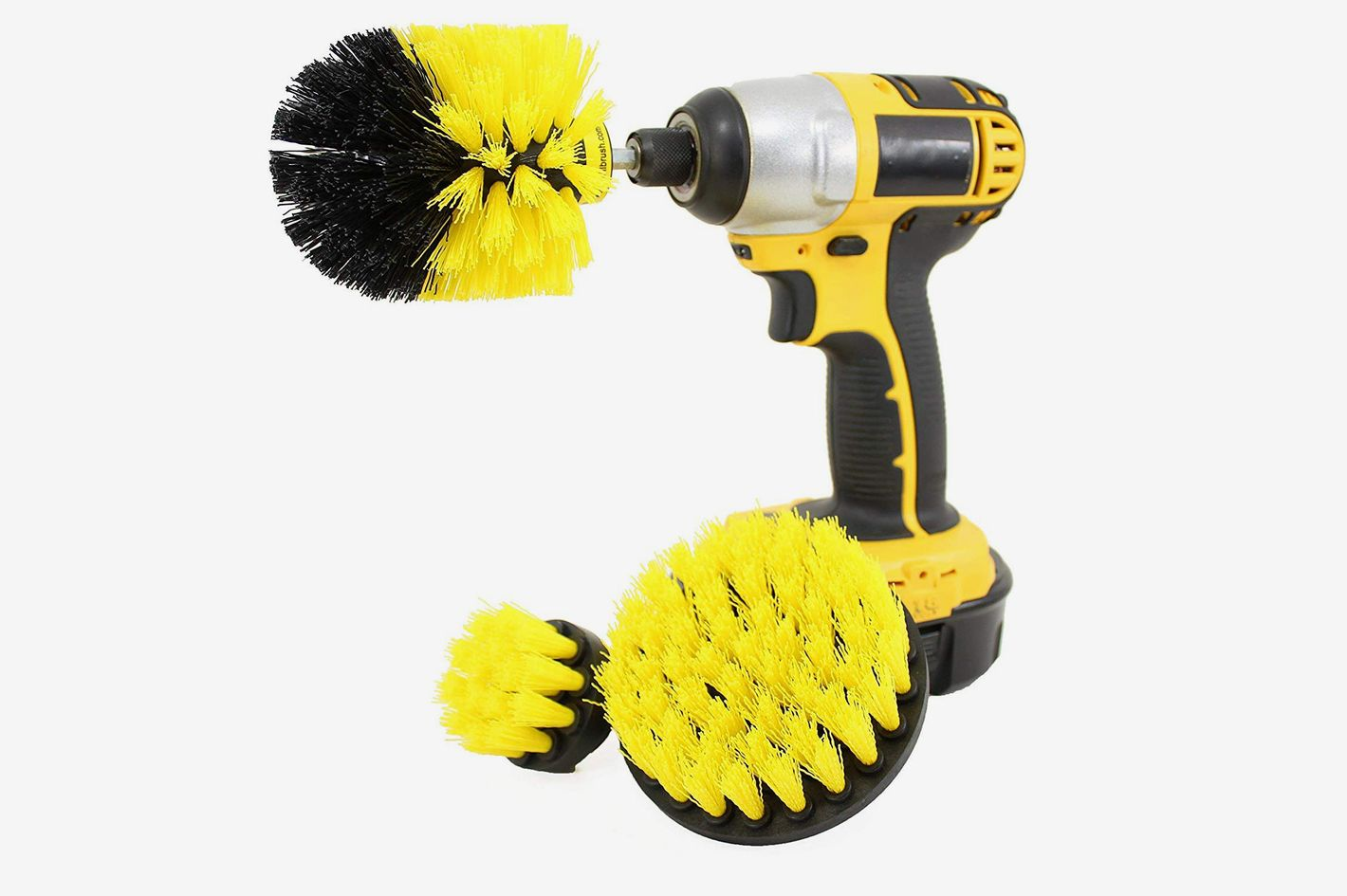 Drillbrush Bathroom Surfaces Power Scrubber Cleaning Kit