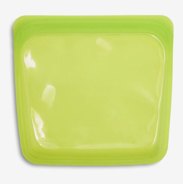 Stasher Resuable Silicone Sandwich Storage Bag - Lime