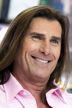 Fabio does some special stuff for his hair.