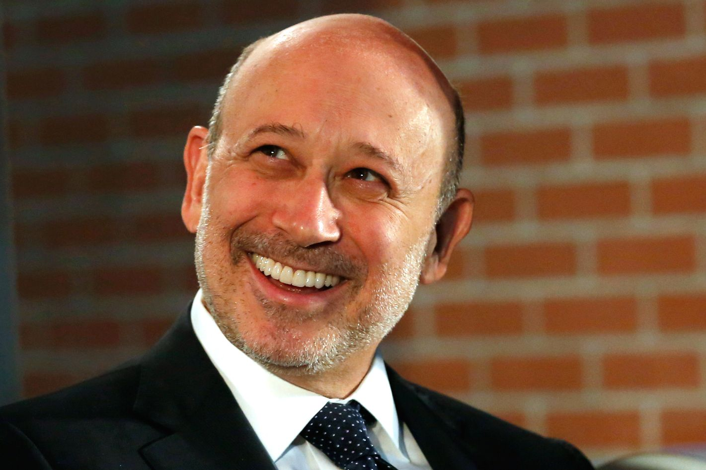 Lloyd Blankfein, chief executive officer of Goldman Sachs Group Inc., attends an event for the company's 10,000 Small Businesses initiative in Detroit, Michigan, U.S., on Tuesday, Nov. 26, 2013.