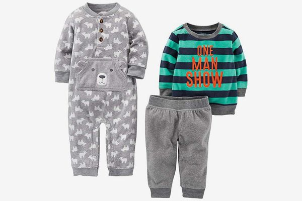 Simple Joys by Carter's Baby Boys' 3-Piece Fleece Playwear Set