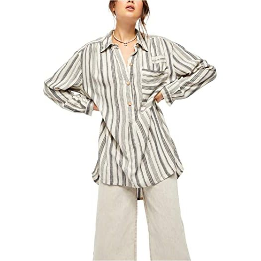 Free People Summer Breeze Stripe Shirt