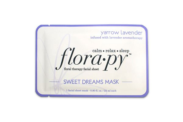 Florapy Facial Sheet Mask, Sweet Dreams Yarrow-Lavender