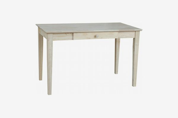 International Concepts Unfinished Writing Desk