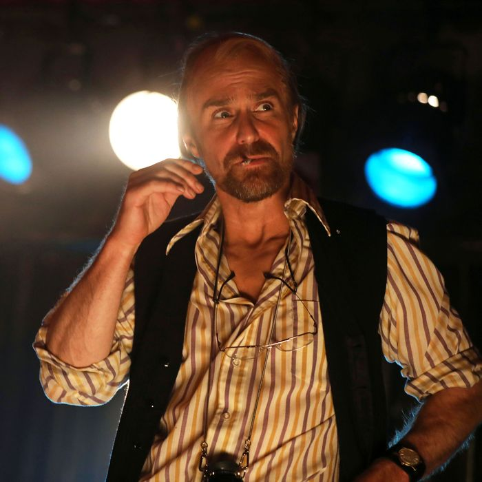 Sam Rockwell as Bob Fosse in Fosse/Verdon.