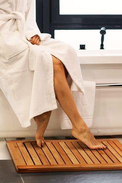 Bambusi Bamboo Bathroom Shower Floor Mat
