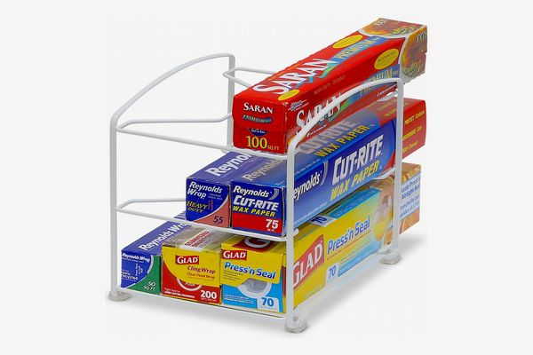 Simple Houseware Kitchen Wrap Organizer Rack