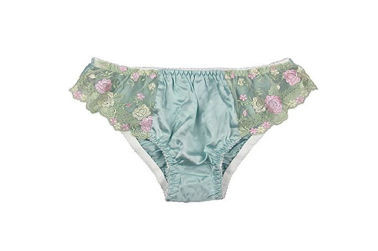Paradise Silk Pure Silk Lace Panties