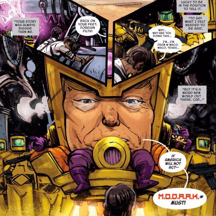 Donald Trump Has Had 20 Comic Book Cameos And Lost His Head In Many Of Them