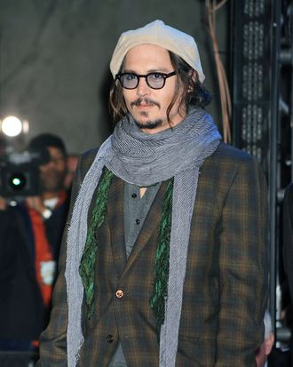 HOLLYWOOD - FEBRUARY 19: Actor Johnny Depp attends the