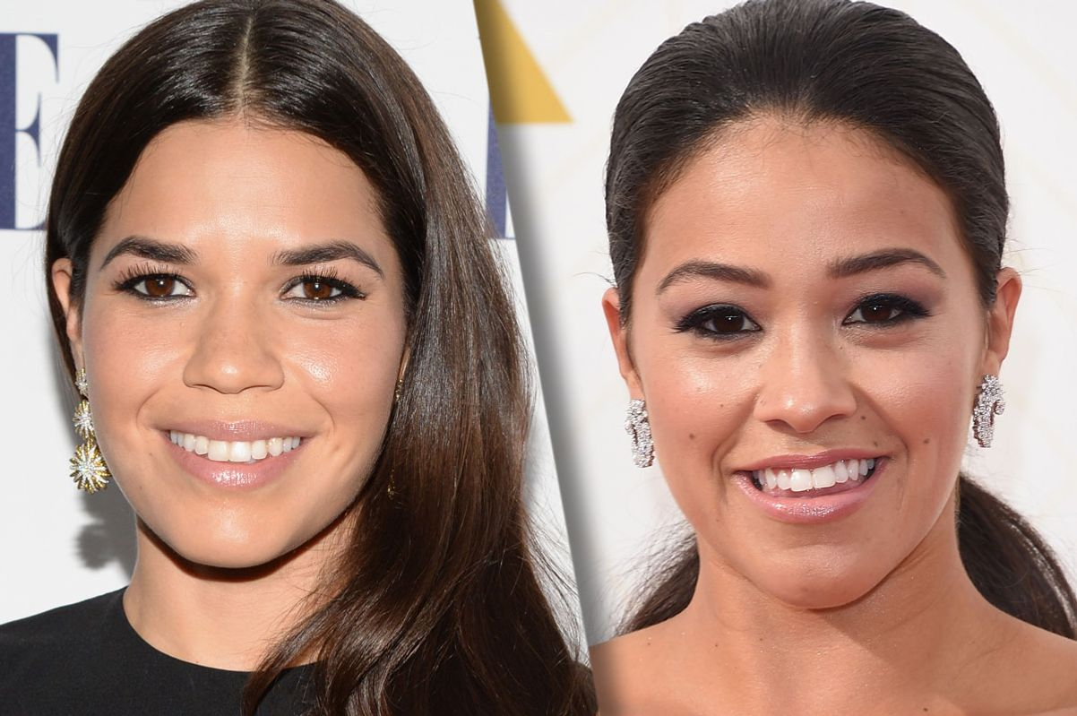 The Golden Globes Foolishly Got America Ferrera And Gina Rodriguez Mixed Up Updated