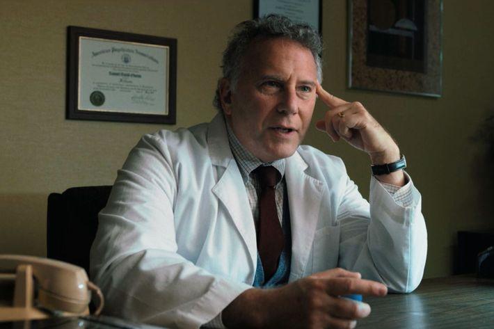 Paul Reiser now, as Dr. Sam in Stranger Things