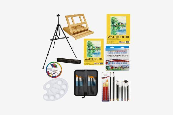 U.S. Art Supply 69pc Deluxe Watercolor Paint Set