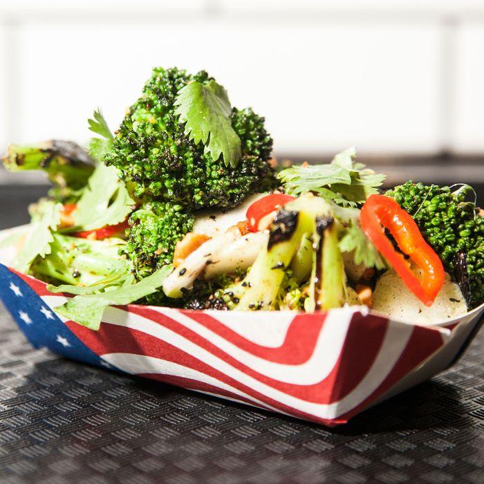 Superiority Burger's burnt broccoli salad