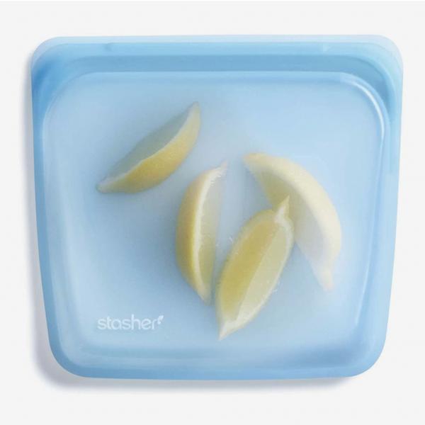 Stasher Platinum-Silicone Reusable Storage Bag