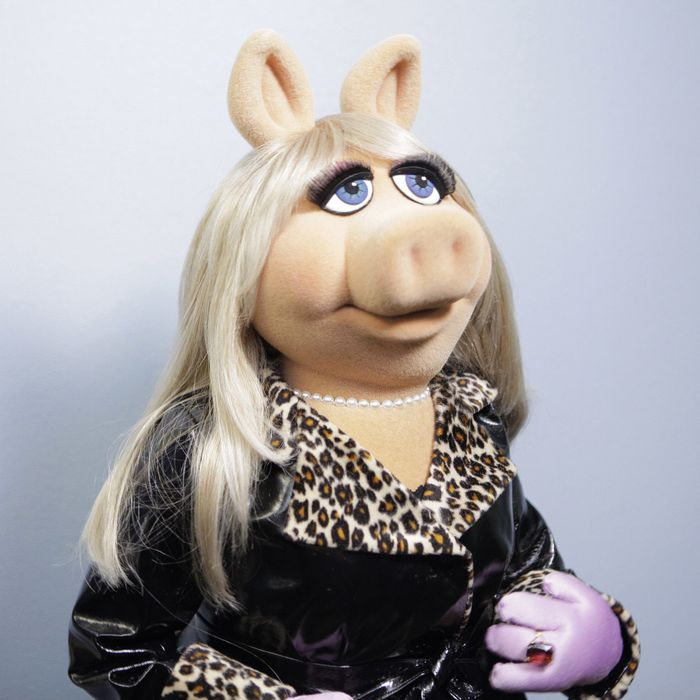 Pig Muppet and 2015 feminist icon, Miss Piggy.