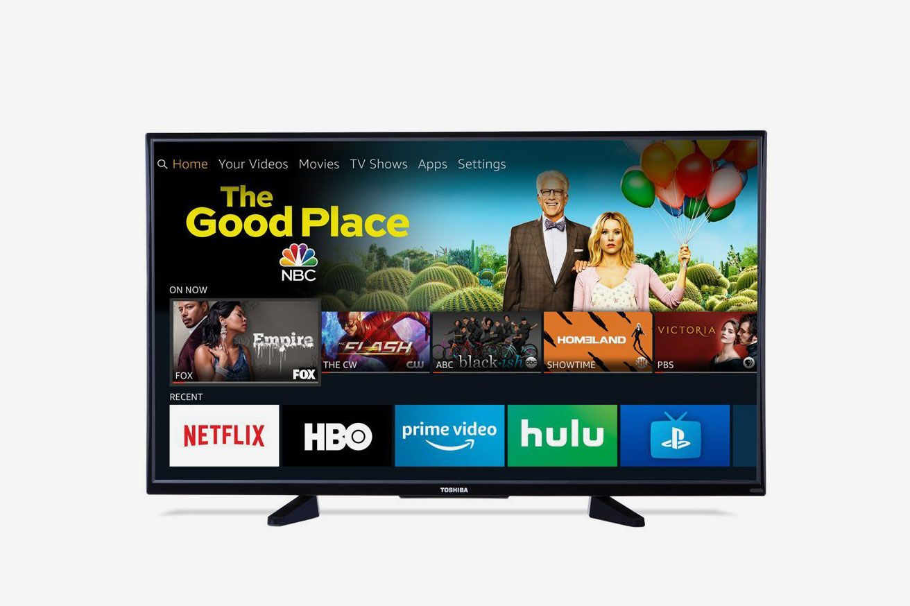 Toshiba 43-inch 4K Ultra HD Smart LED TV with HDR