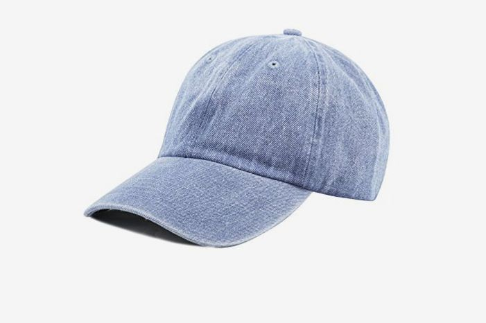 Washed Denim Baseball Cap at Amazon 4eae3c17e4c