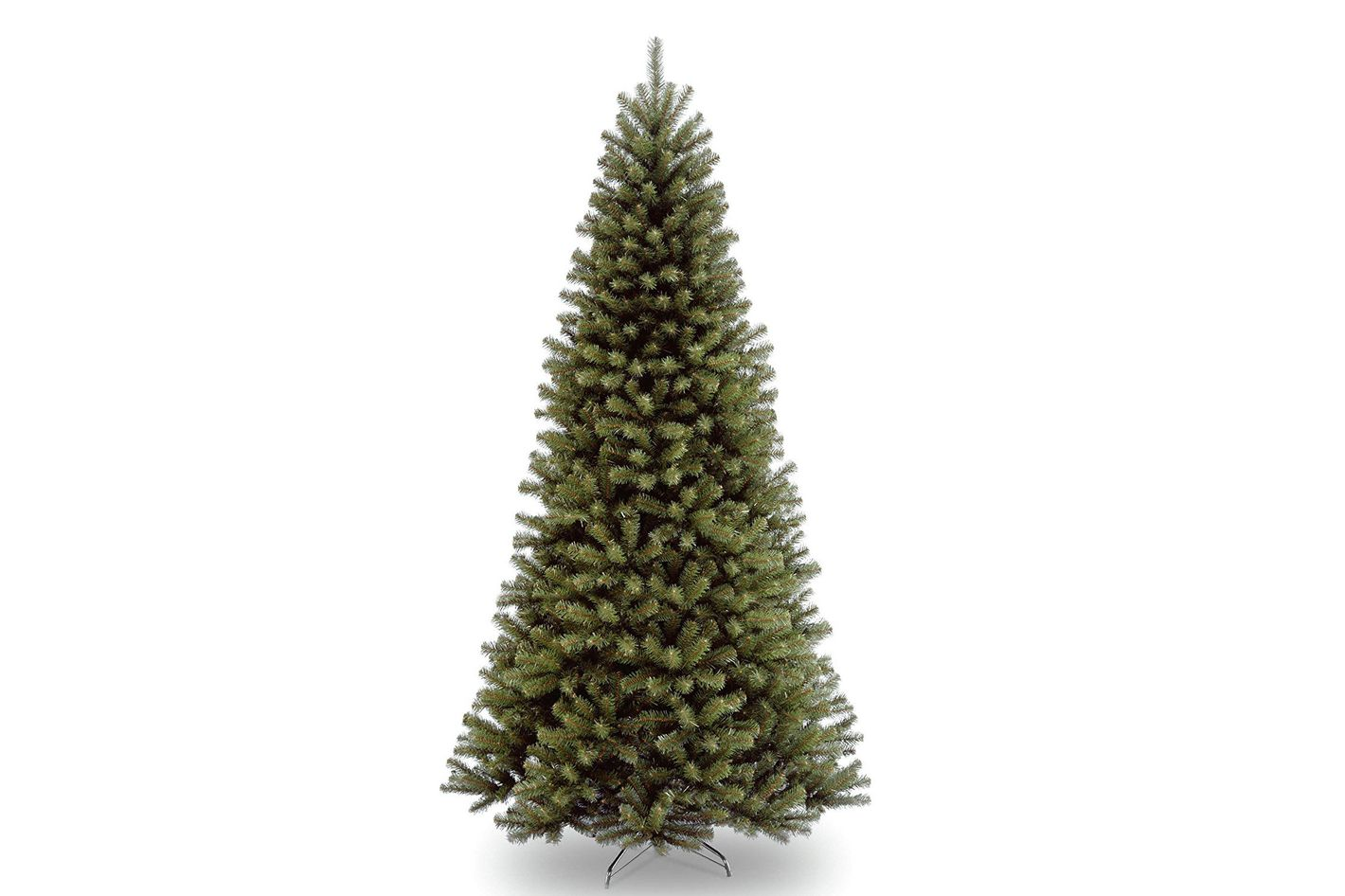 Vickerman 9 Natural Alpine Christmas Tree With 500 Multi Colored Led Lights