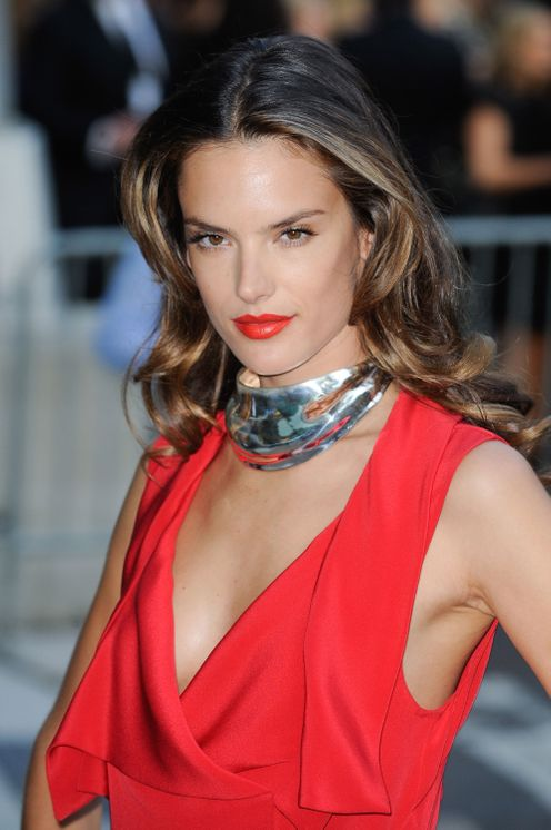 Alessandra Ambrosio, 2011 - Celebrities in Chokers - The Cut