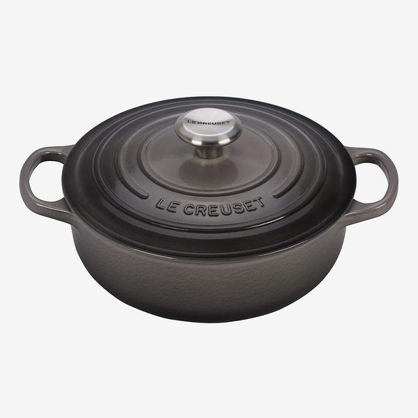 Le Creuset Enameled Cast Iron Signature Sauteuse Oven, 3.5 qt., Oyster
